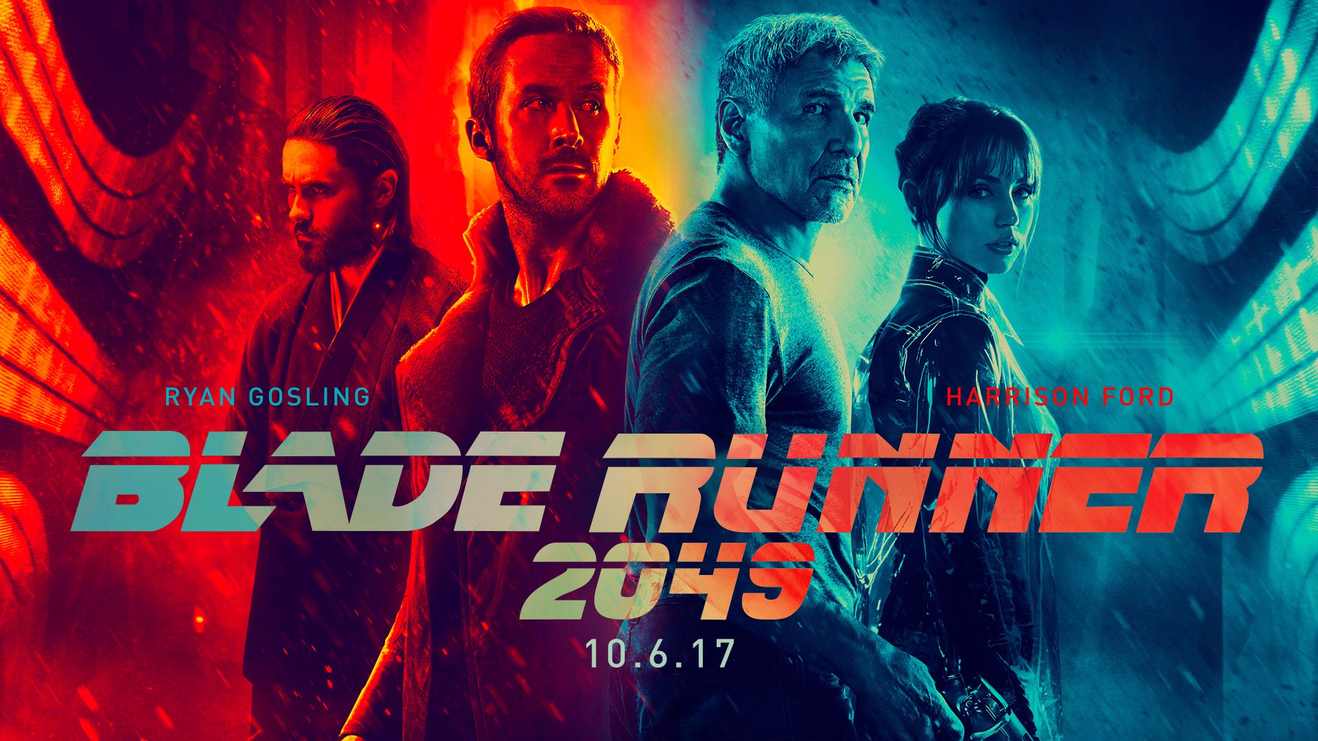 Este es el trailer de Blade Runner 2049. La primera película (Blade Runner) fue estrenada en 1983 y Ridley Scott fue su director.