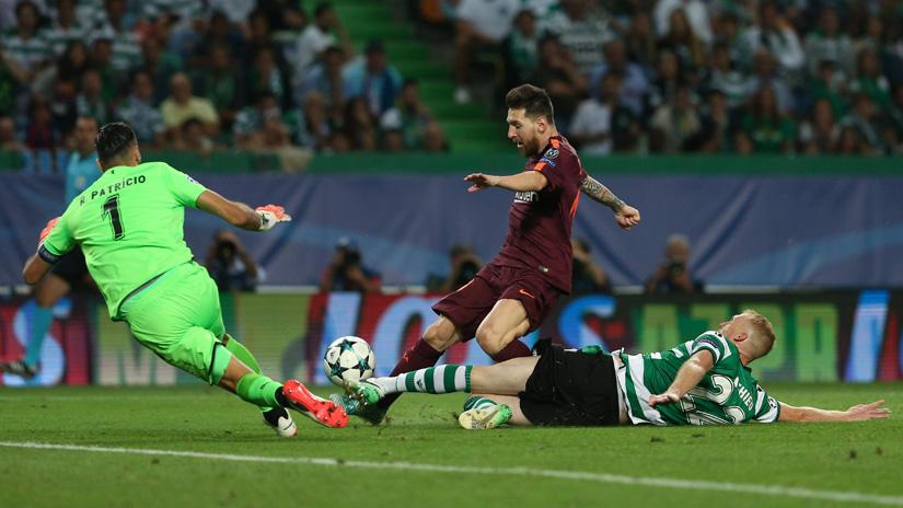 El astro argentino Lionel Messi tiene 11 goles en la actual temporada.