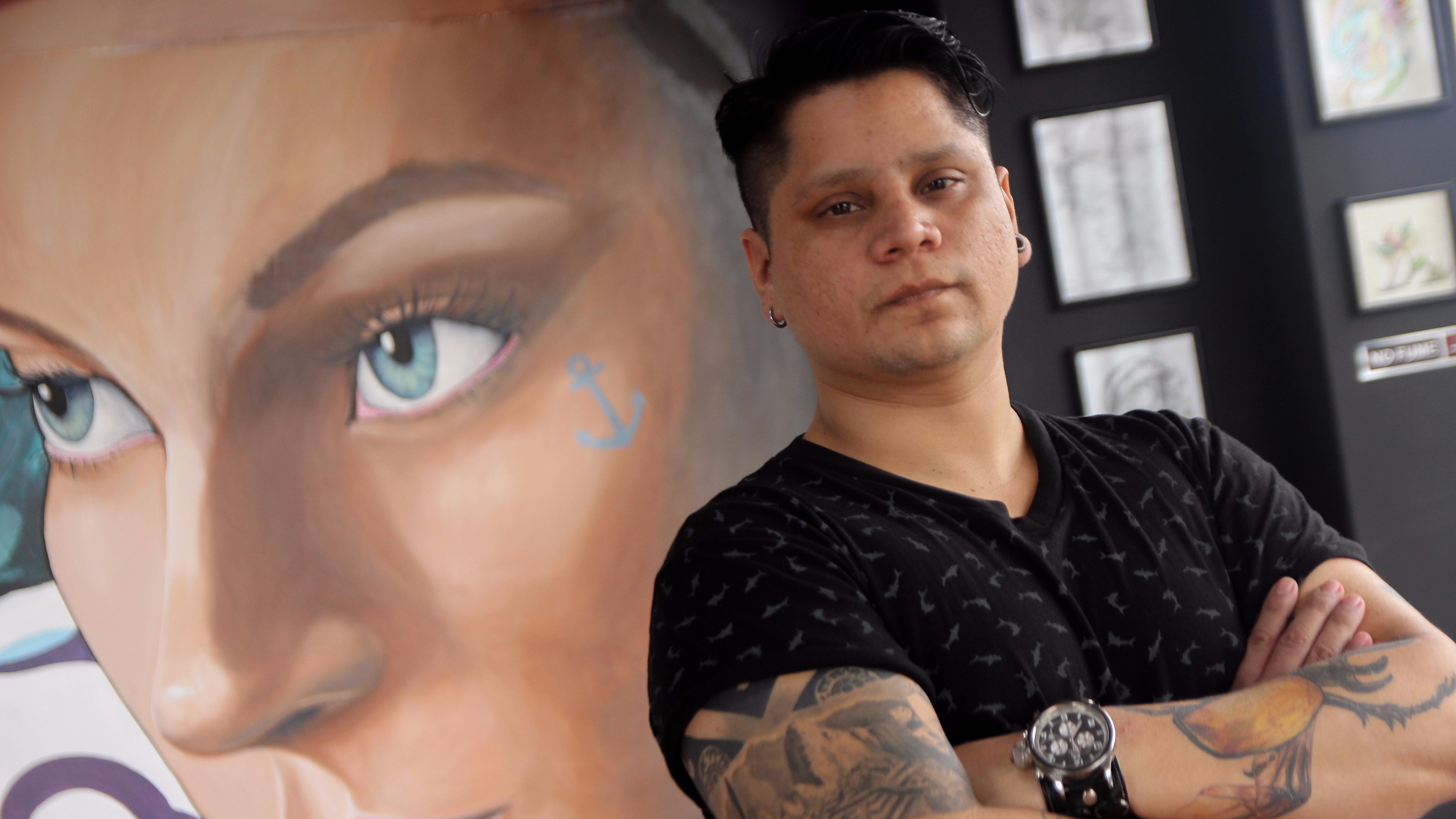 Cesar Pinto es uno de los nuevos referentes en la realidad del tatuaje.