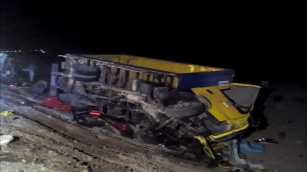 Accidente de tránsito dejó 10 muertos en Islay.