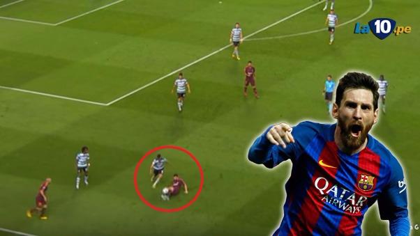 Messi igualó a Puyol en partidos oficiales con el Barcelona (593). Por delante ya solo Xavi (767) e Iniesta (638), según Mister Chip.