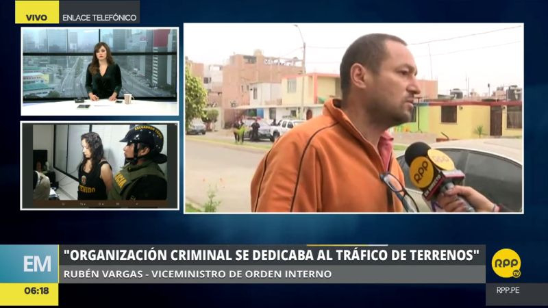 La Policía arrestó a 26 integrantes de la peligrosa banda 'Los Temibles de Nuevo Cañete'.