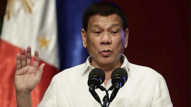 El régimen de Rodrigo Duterte aseguró que