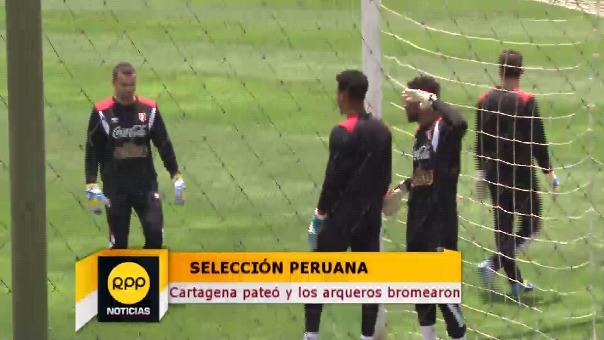 La Selección Peruana entrenó por cuarto día.