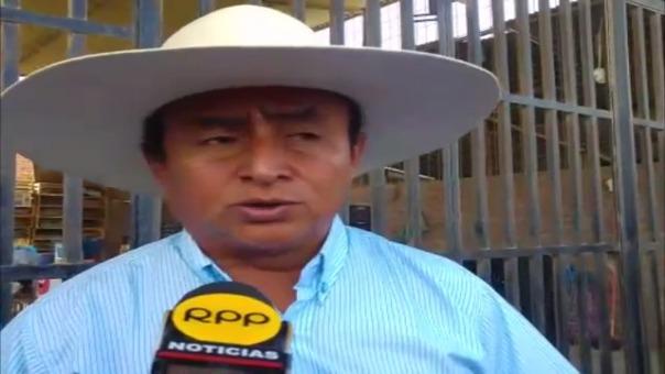 El ex candidato presidencial recorrió el Mercado Mayorista de Piura.