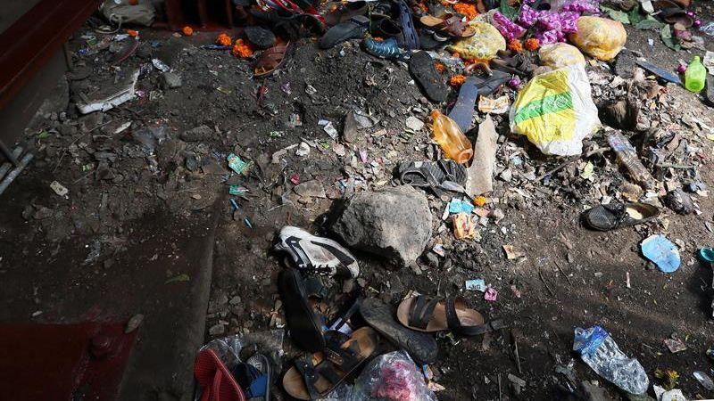La estampida ocurrió en un pasadizo en una estación de Bombay, en el oeste de la India.
