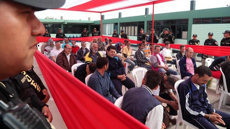 Estos españoles cumplían condena en penales de Lima, Callao, Ica, Huacho, Cusco y Piura.