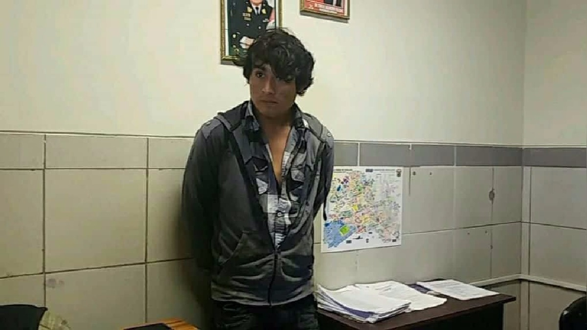 Cristhian Iván Cherres Morales (21) estaba incluido en el programa de recompensas del Ministerio del Interior.