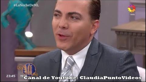 Cristian Castro en el programa de Mirtha Legrand