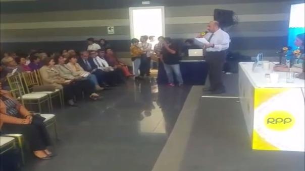 Elmer Huerta en Trujillo.