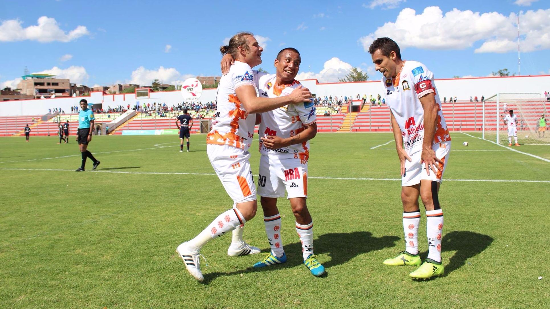 Escucha el relato de RPP Noticias del Ayacucho FC 5-3 Sporting Cristal.