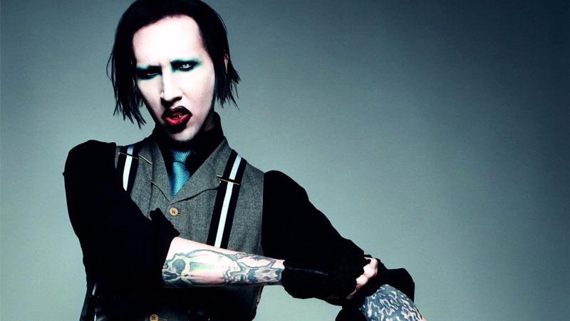 Marilyn Manson y su aparatoso accidente en Nueva York.