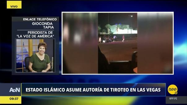 Gioconda Tapia de La Voz de América.