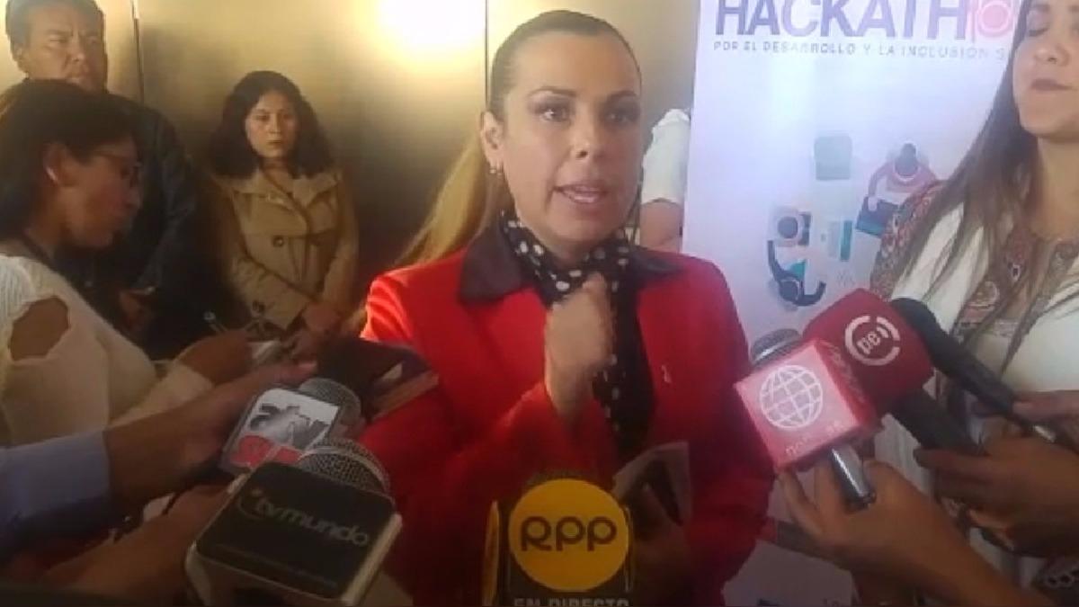La titular del Ministerio de Desarrollo e Inclusión Social (Midis), Fiorella Molinelli, llegó a la ciudad para lanzar campaña contra la enfermedad.