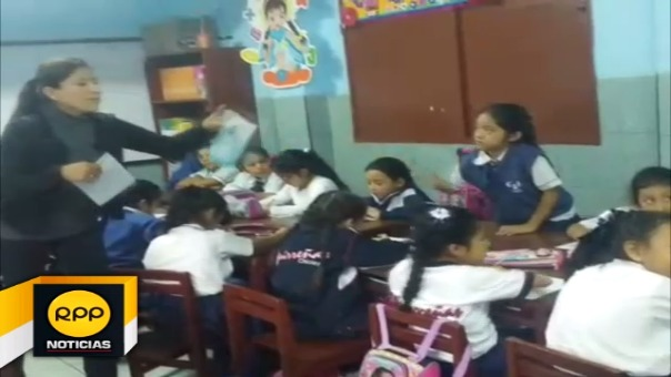 Evaluación se realizó para conocer el avance de los aprendizajes de los escolares.