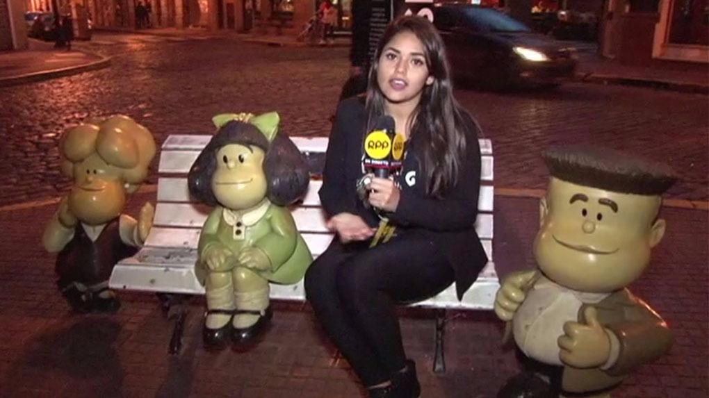 RPP Noticias estuvo en San Telmo, el barrio donde se puede apreciar una escultura en honor a Mafalda.