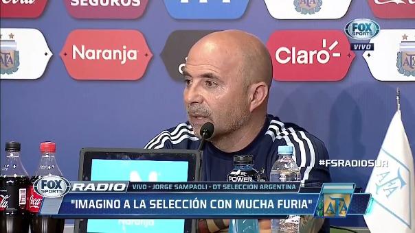 Jorge Sampaoli habló de todo en la conferencia de prensa previa al partido contra Perú.