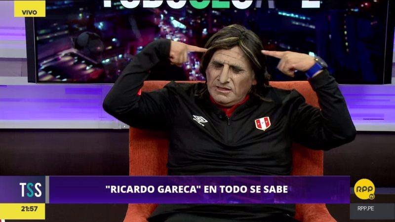El humorista presentó nuevamente su interpretación del técnico Gareca.