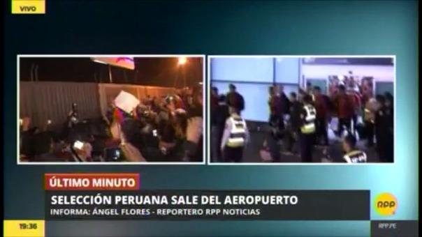 Revive el multitudinario recibimiento de la Selección Peruana.
