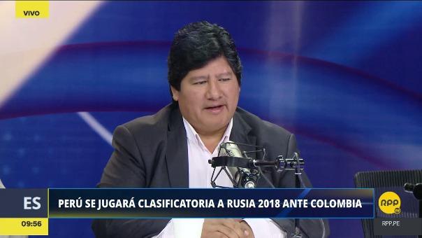 Edwin Oviedo brindó una entrevista exclusiva a RPP Noticias.