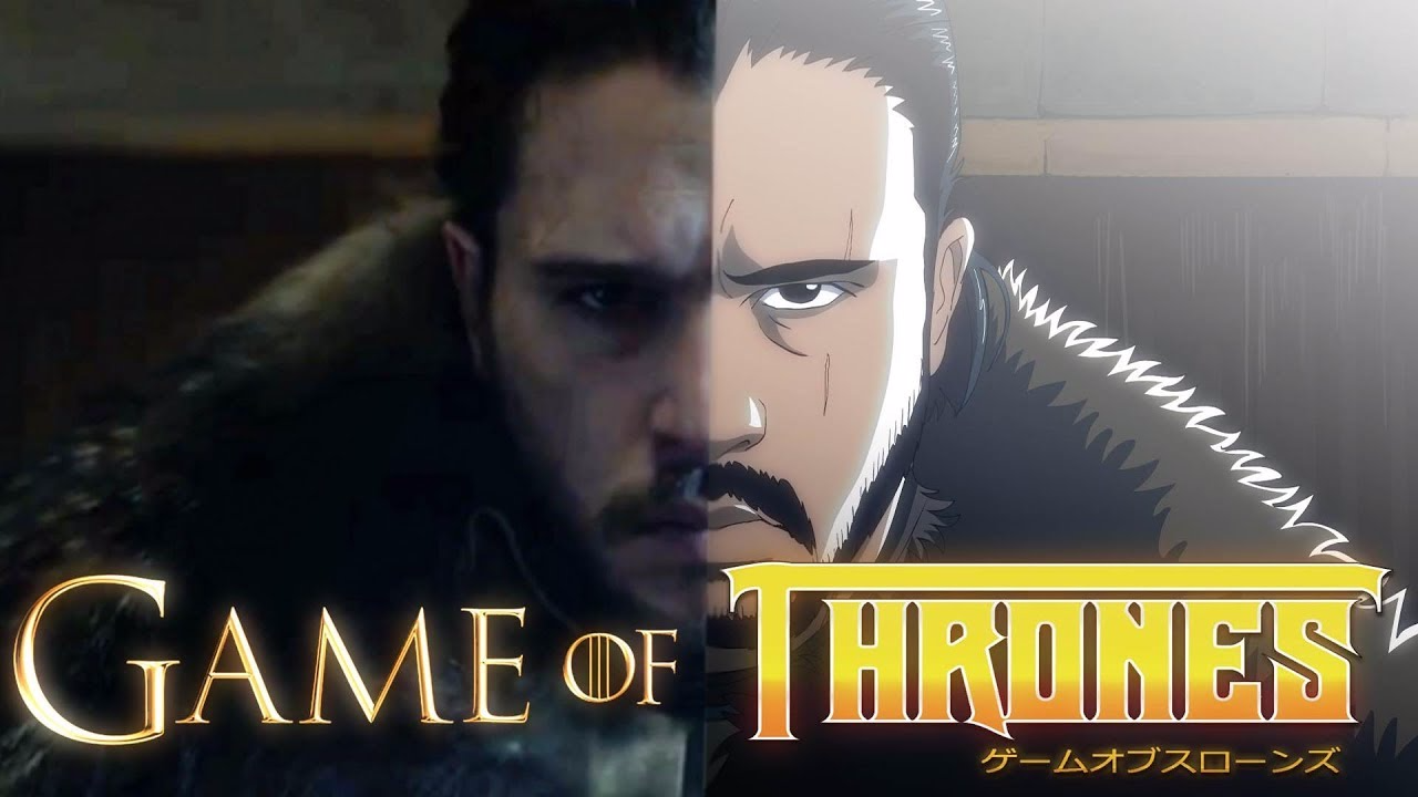 Este es el intro de Game Of Thrones en anime.