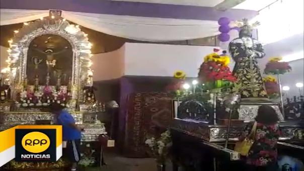 Imagen del cristo Morado saldrá en compañía del Nazareno Cautivo de Monsefú