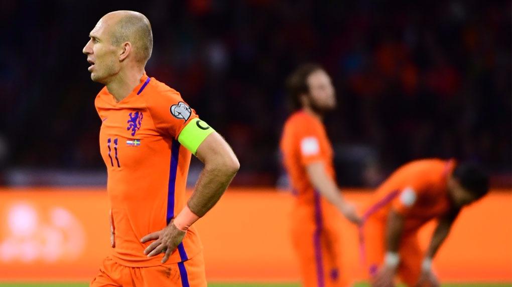 Arjen Robben soñaba con jugar su último Mundial.