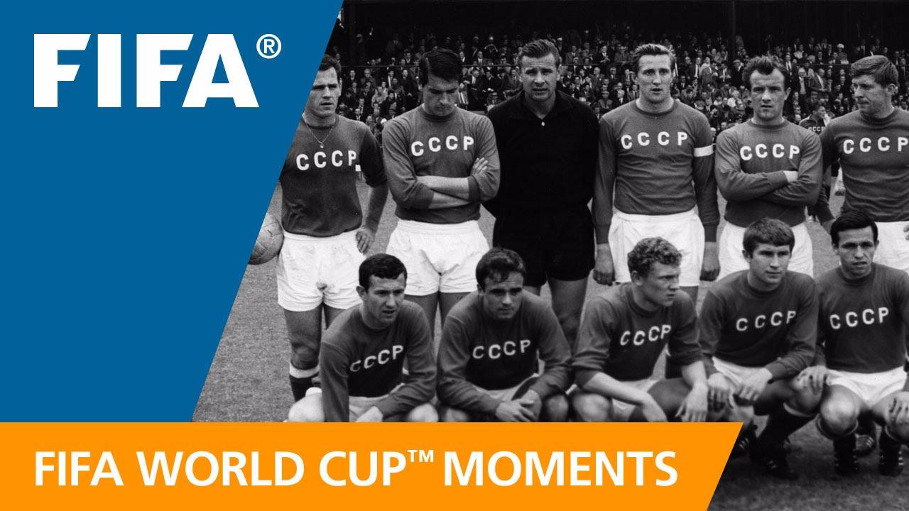 Lev Yashin es recordado por su extraordinaria participación en Inglaterra 1966.