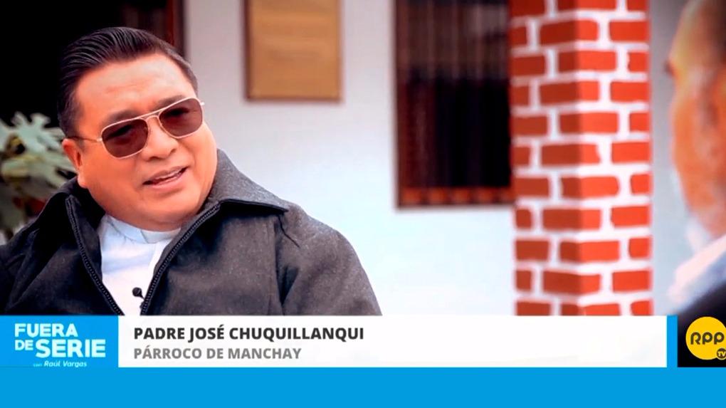 El padre José Chuqillanqui llegó a Manchay en 1999.