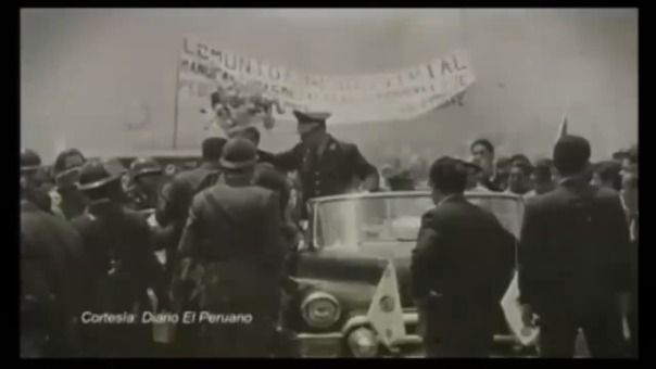 Parte del episodio de Sucedió en el Perú donde se recuerda el Gobierno de Velasco Alvarado.