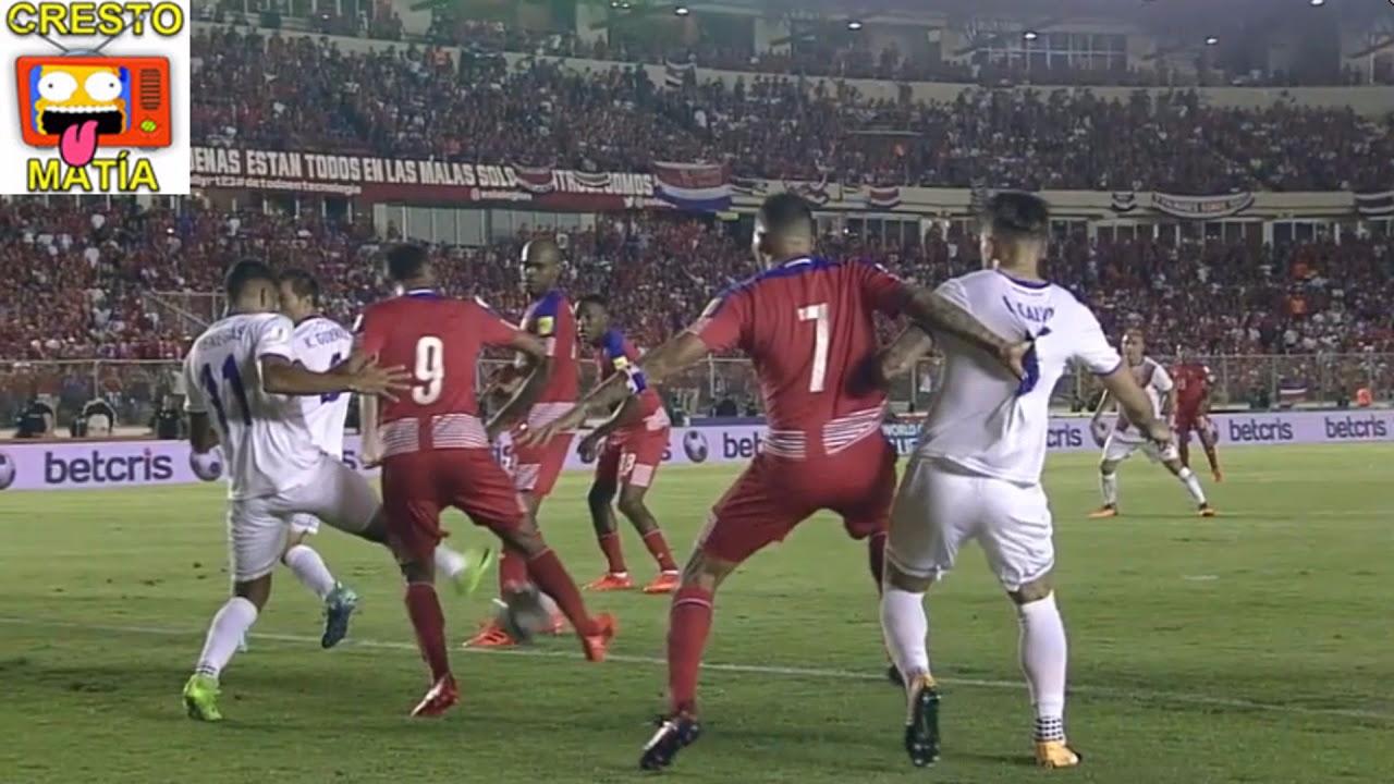 Panamá empató el partido con tanto fantasma de Gabriel Torres.