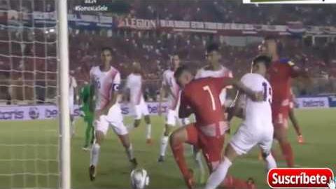 Revisa el gol de Panamá a Costa Rica por las Eliminatorias de Concacaf.
