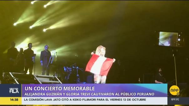 Gloria Trevi y Alejandra Guzmán en Lima