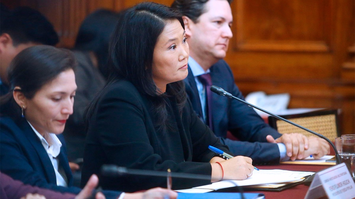 Keiko Fujimori negó todo vínculo de Odebrecht.
