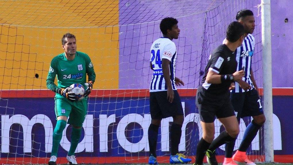 Alianza Lima empató 1-1 ante Cantolao por la octava fecha del Clausura.
