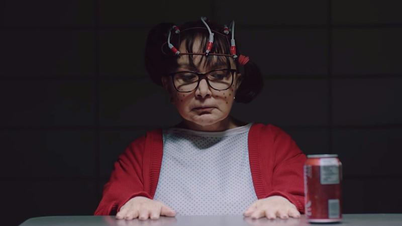 La Chilindrina en una parodia a 'Eleven' de 'Stranger Things'