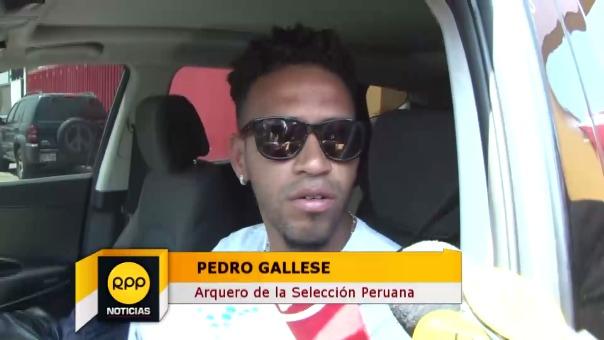 Pedro Gallese no fue considerado por Veracruz porque no pensaban que se iba a recuperar rápido de la lesión al dedo.