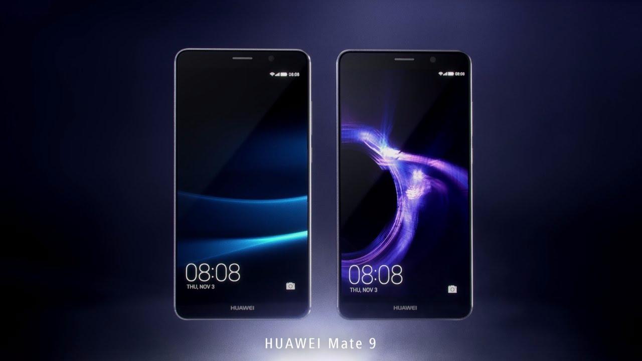 Comercial del Huawei Mate 9.