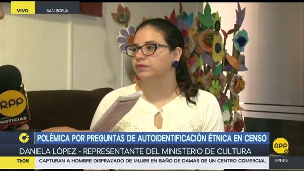 El Ministerio de Cultura explica la importancia de la pregunta de autoidentificación étnica en el censo 2017.