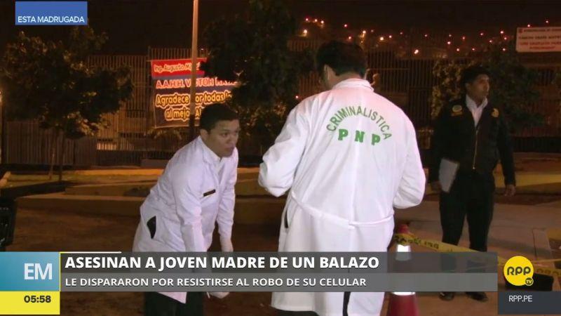 El crimen ocurrió en el asentamiento humano Los Sauces, en Chorrillos.