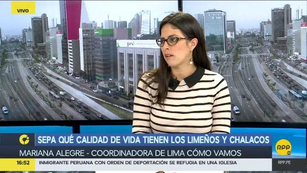Mariana Alegre también comentó que aún persiste la brecha salarial por género.