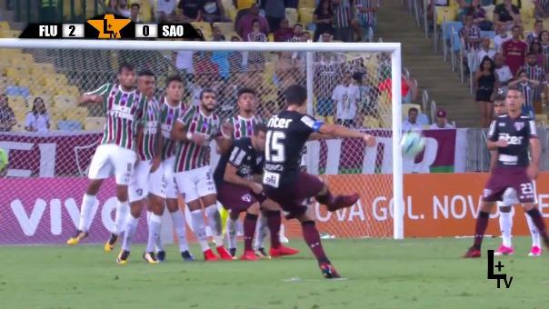 Sao Paulo está en el puesto 14 con 34 puntos.