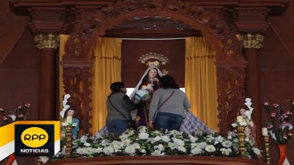 El Niño Jesús que carga la imagen de la Virgen de la Candelaria ha marcado anécdotas entre sus fieles de Huanchaco.