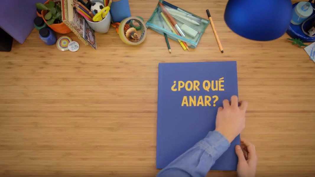 La Fundación ANAR publicó un video para orientar los niños y adolescentes que tienen un problema en casa o en el colegio y no saben cómo enfrentarlo.