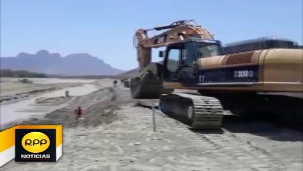 Los trabajos se concentran en el sector El Medano