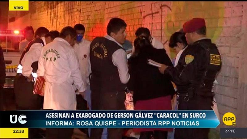 El exfiscal también se desempeñó como abogado del narcotraficante Gerson Galvez