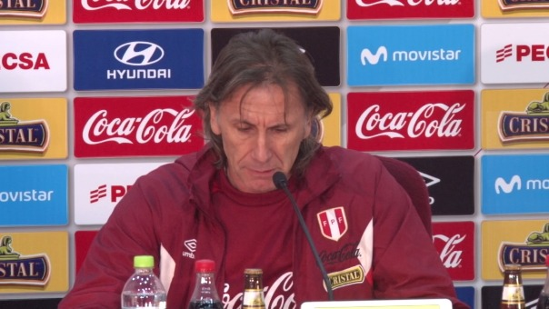 Ricardo Gareca anuncia la lista de convocados de la Selección Peruana para el repechaje ante Nueva Zelanda.