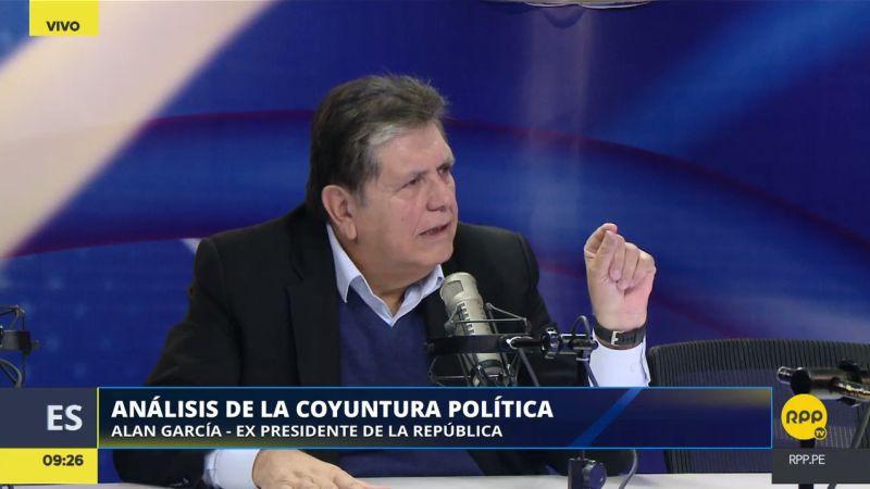 """El expresidente reveló que ofreció su apoyo al mandatario Pedro Pablo Kuczynski, pero """"no me ha considerado""""."""