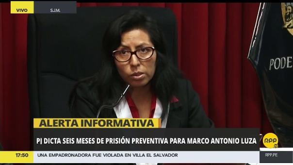 La jueza Carmen Ruíz Díaz comentó que el acusado no reconoce el delito como violación.
