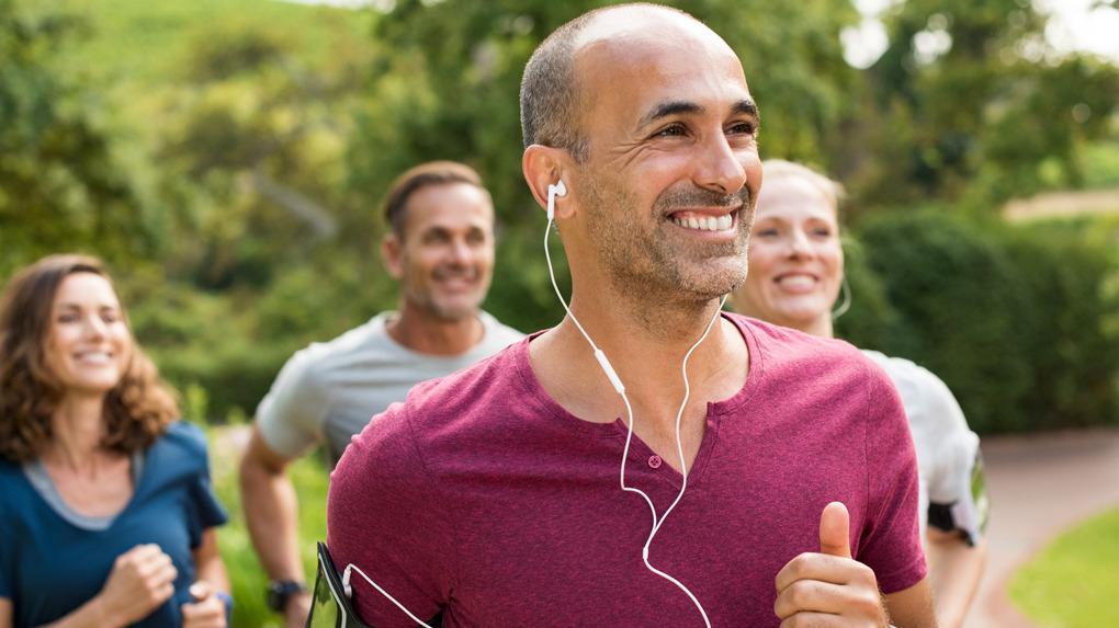 La música permite concentrarnos en el ejercicio del momento.